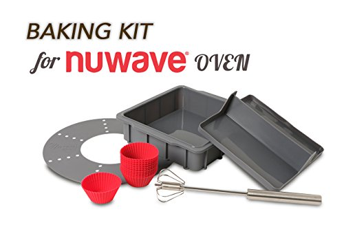 Nuwave 36223 Brio Gourmet Accessory Kit Clear One Size
