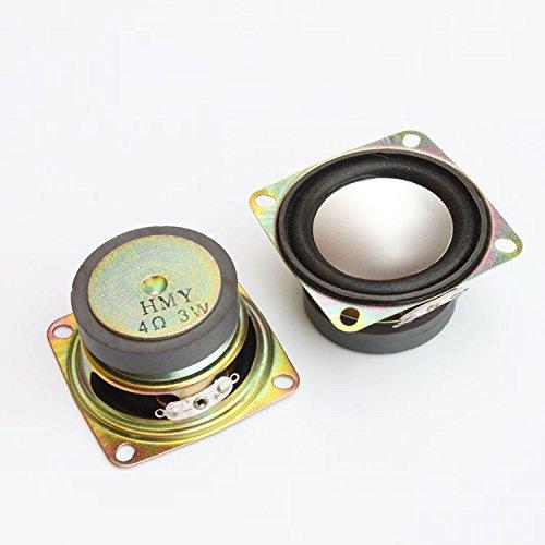 1PCS 4Ohm 3W Full Range Audio Speaker Stereo Woofer Loudspeaker 52mm 2 inch PVCA