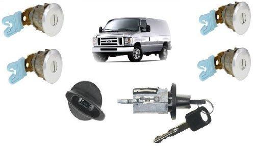 Ford Econoline Van E150 E250 E350 Keyed Door Locks Amp Keyed