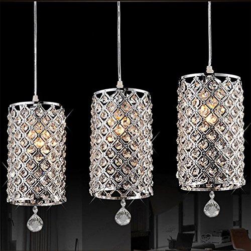 Mirrea 174 Crystal Chandelier Pendant Light 4 Lights With