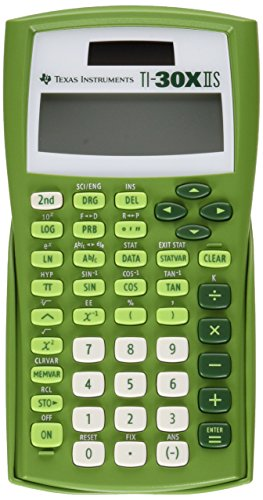 Texas Instruments Ti 30x Iis 2 Line Scientific Calculator Orange