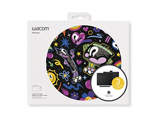 Wacom Intuos Drawing Tablet with 3 Bonus Software Included